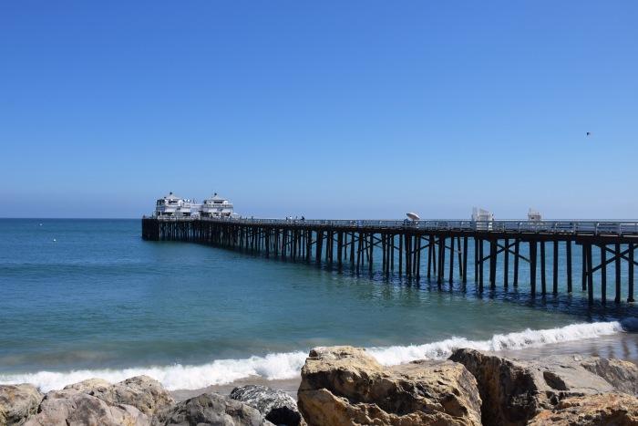 Malibu pier California