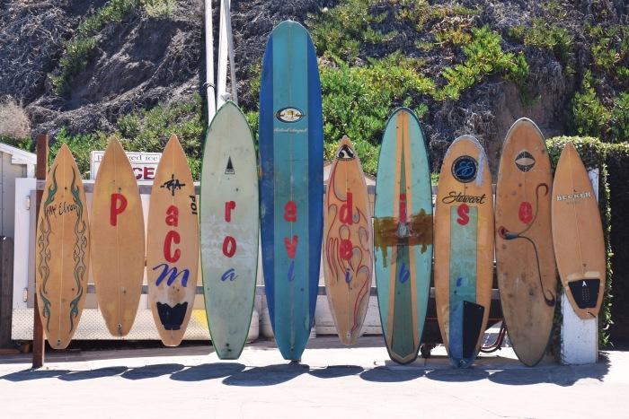 Paradise Cove Malibu LA