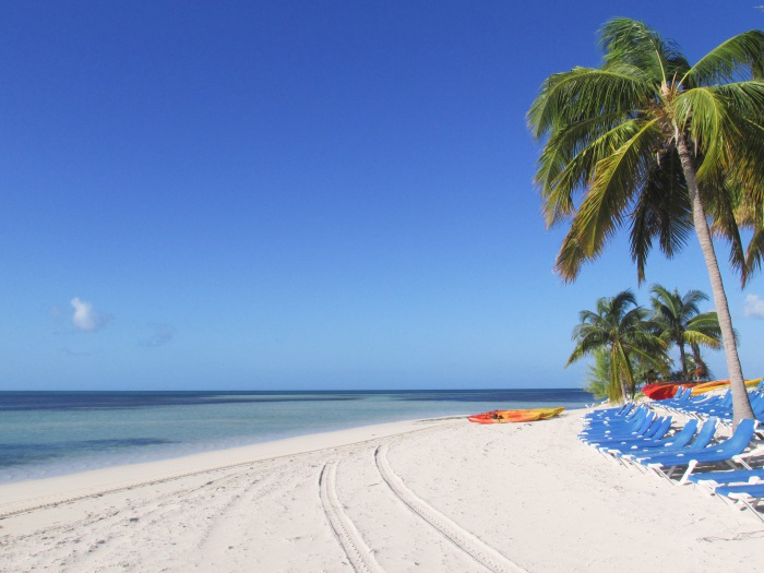 Paradise beach vacation Bahamas