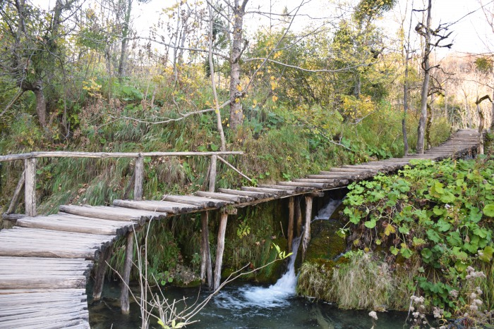 Plitvice lakes national park hiking trails