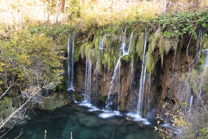 Plitvice lakes waterfalls