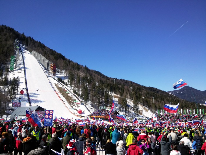 Slovenia Planica winter