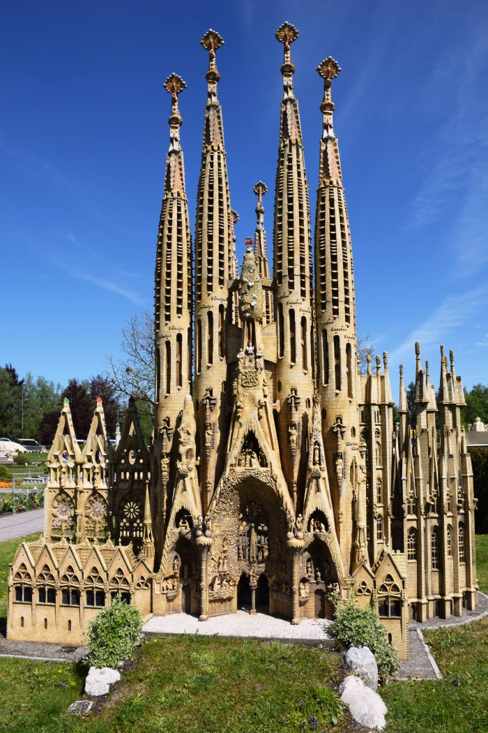 The Cathedral of Sagrada Familia Minimundus