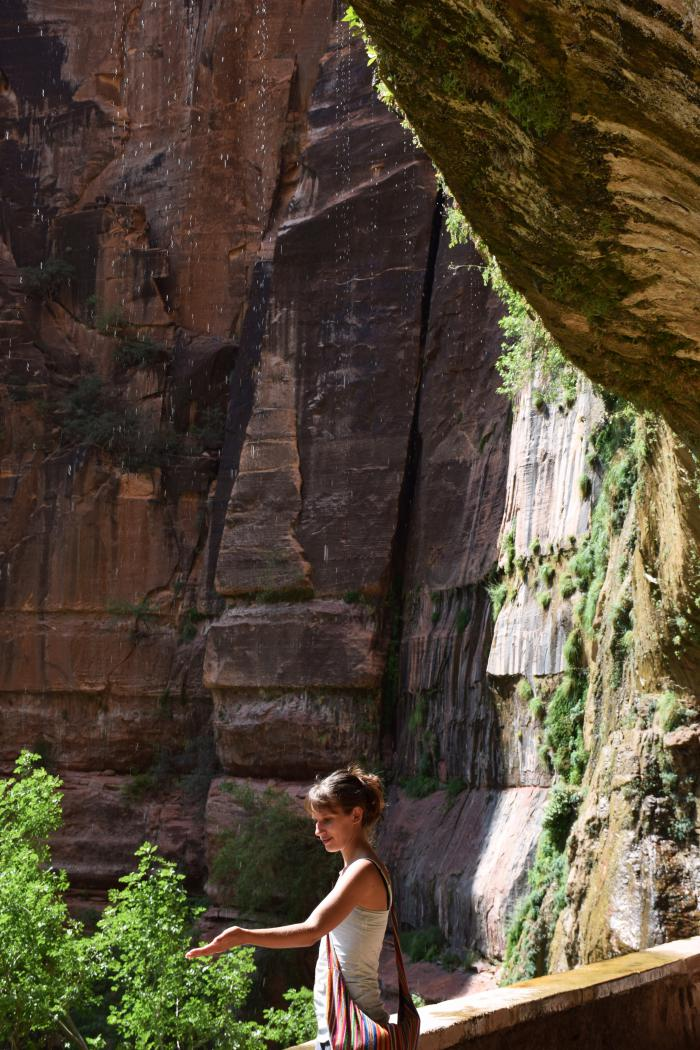The Weeping Rock Zion