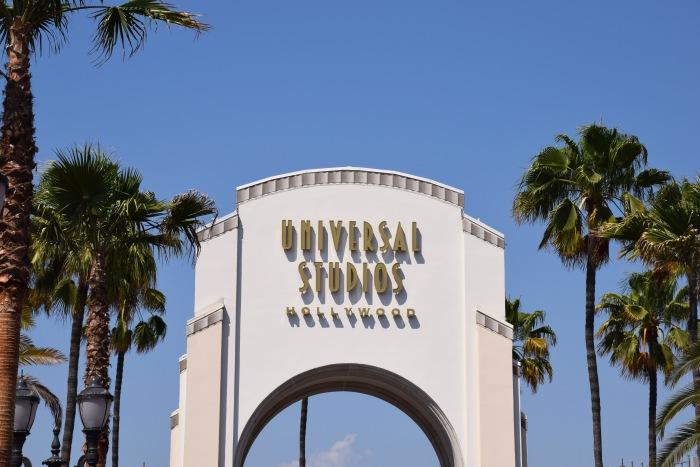 Universal Studios theme park LA