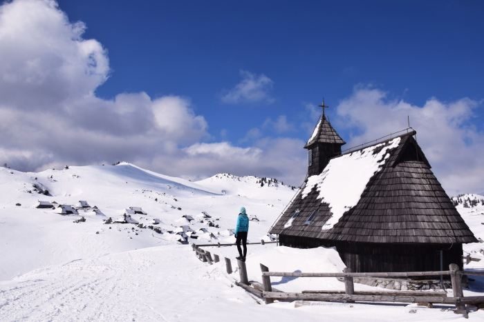 Velika Planina church