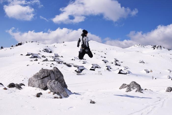 Velika Planina jump