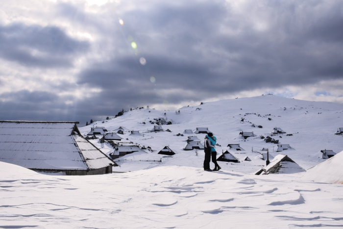 Velika Planina winter kiss