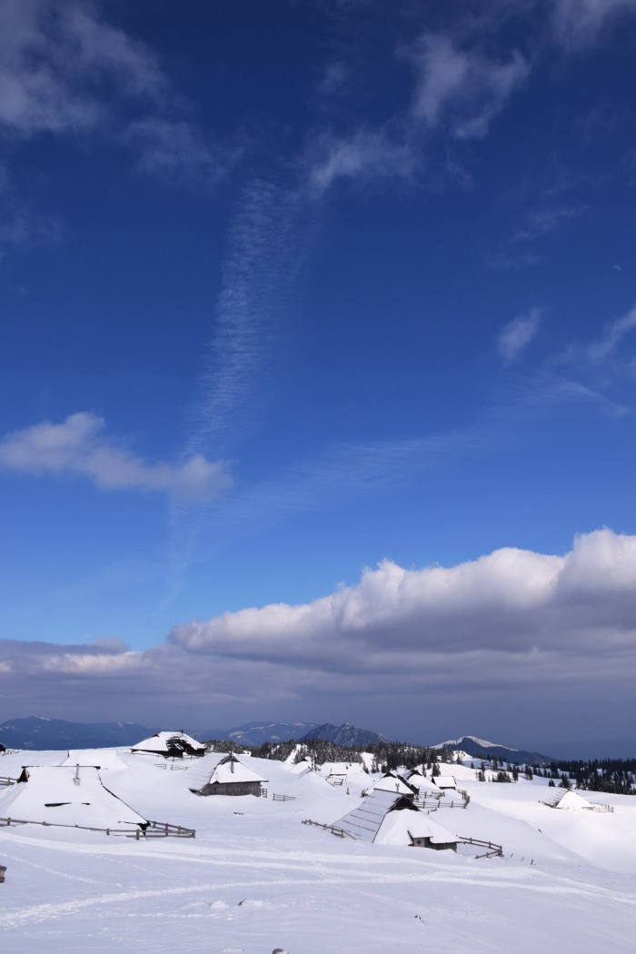 Velika Planina winter weather