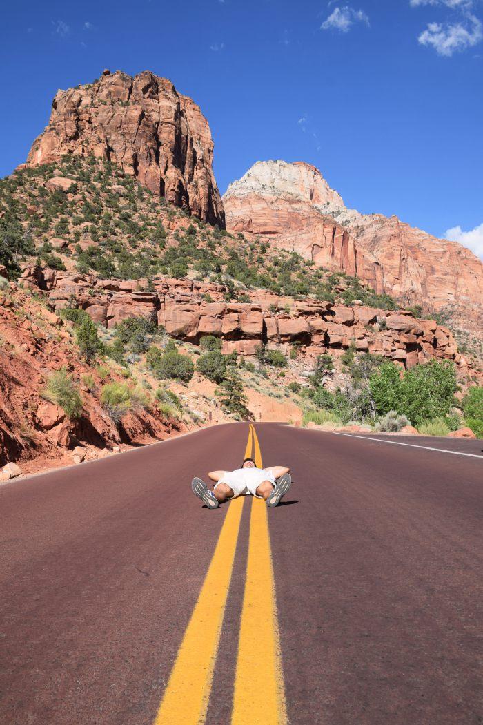 Zion adventure USA