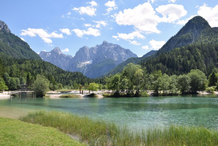 Slovenia top attractions Kranjska Gora Lake Jasna