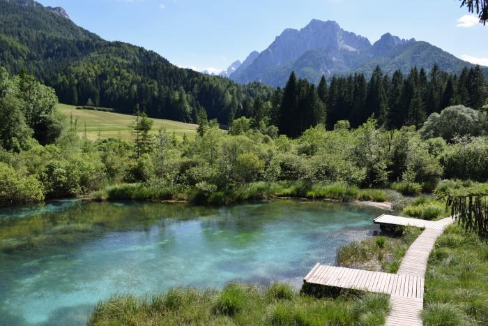 Slovenia top attractions Zelenci