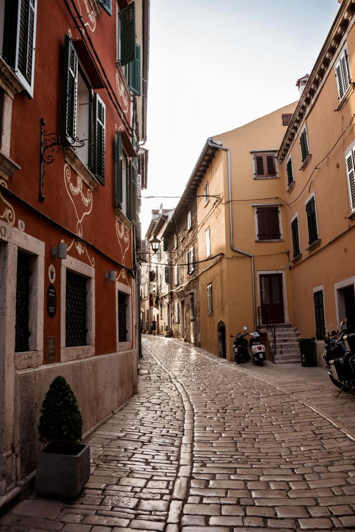 Istria Mediterranean town Rovinj