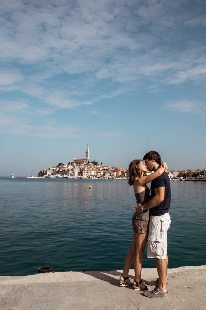 Rovinj Croatia honeymoon