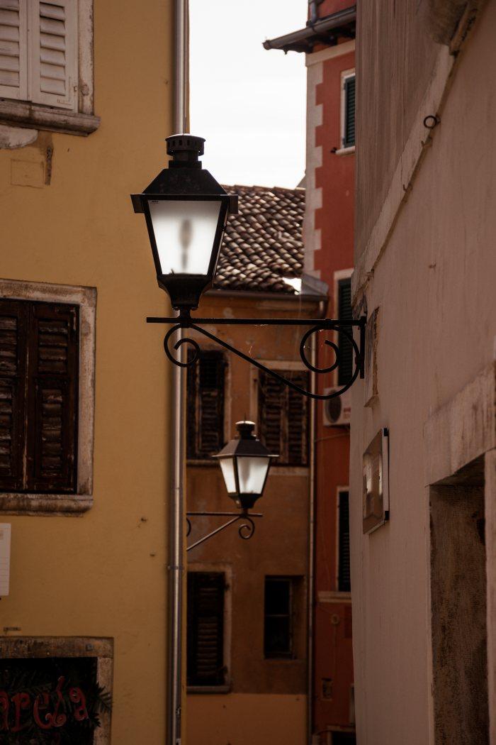 Rovinj Croatia medieval architecture