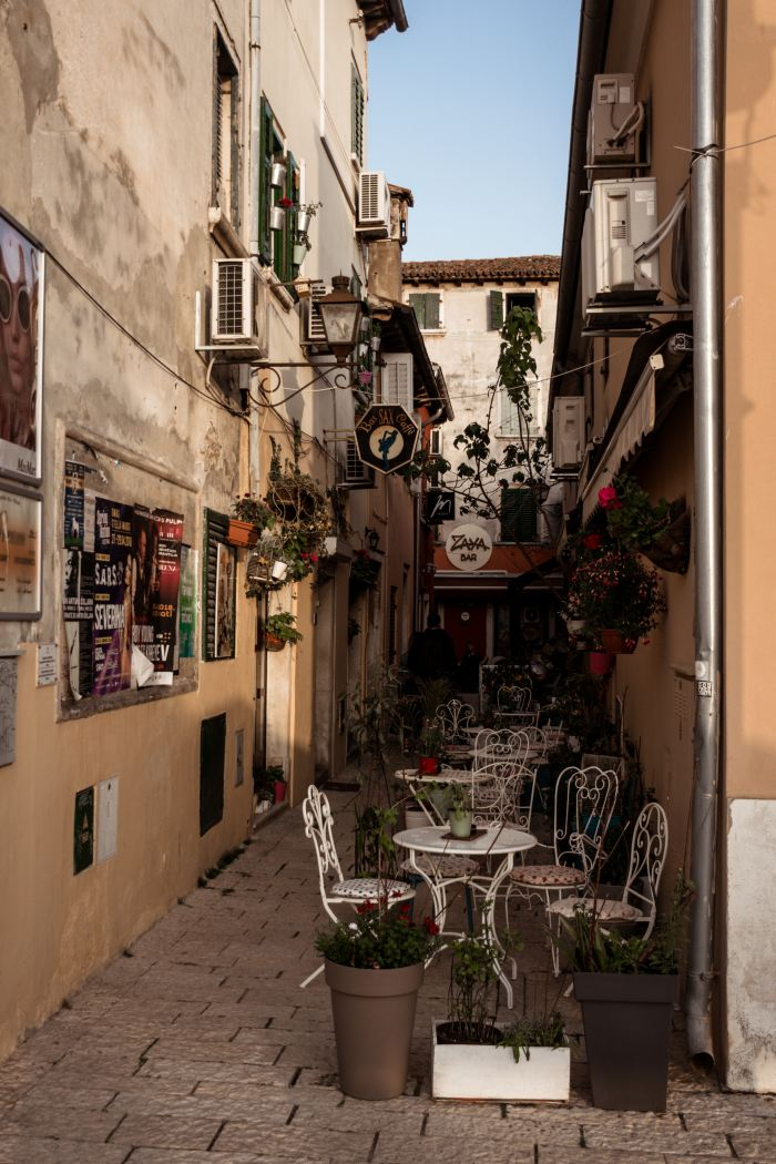 Rovinj Croatia romantic sights