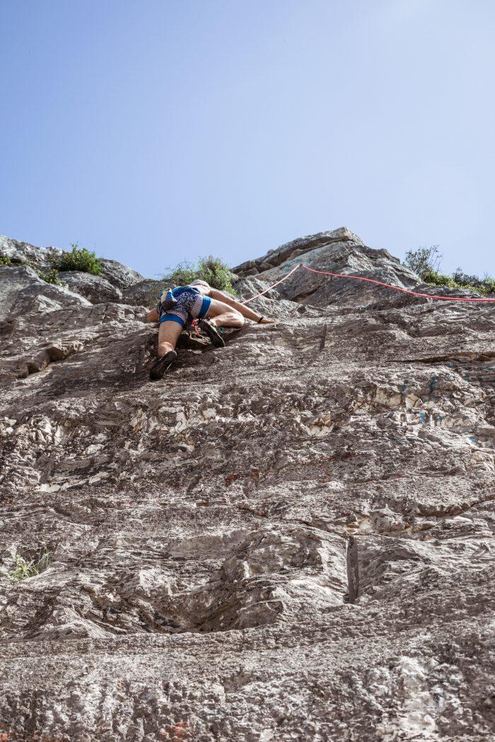Rovinj rock climbing Croatia