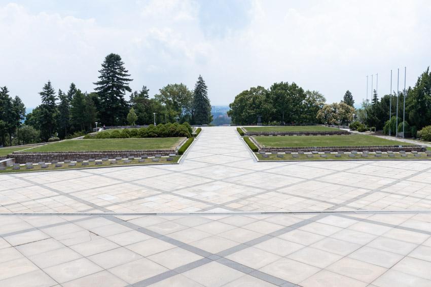 Slavin cemetery Bratislava