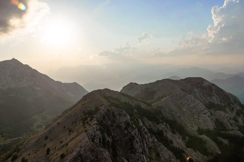 Lovcen view over Bay of Kotor