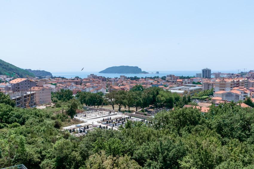 View over Budva