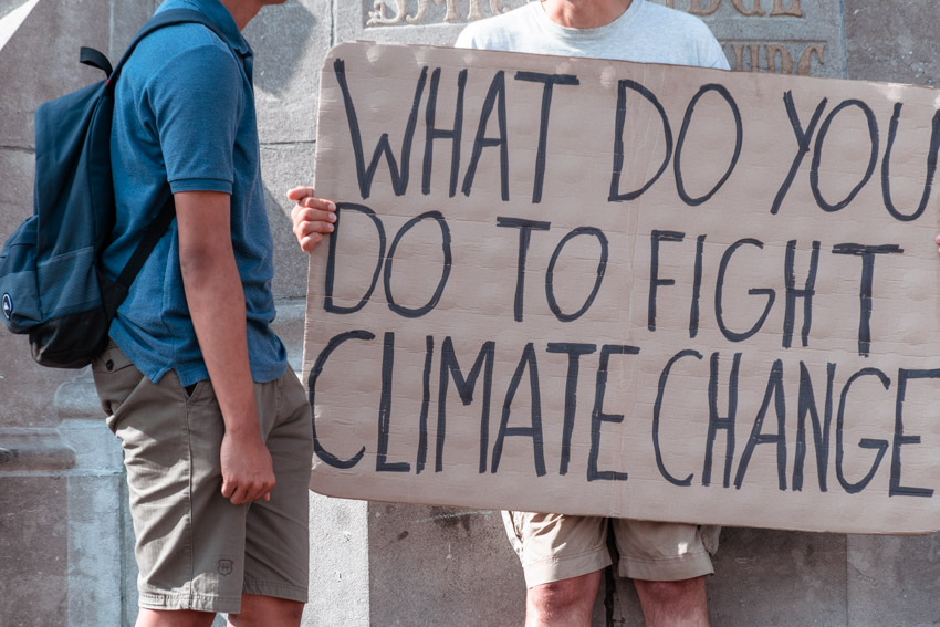 Fight climate change