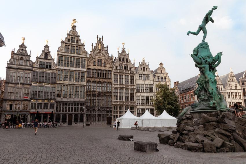 Antwerp Flemish architecture