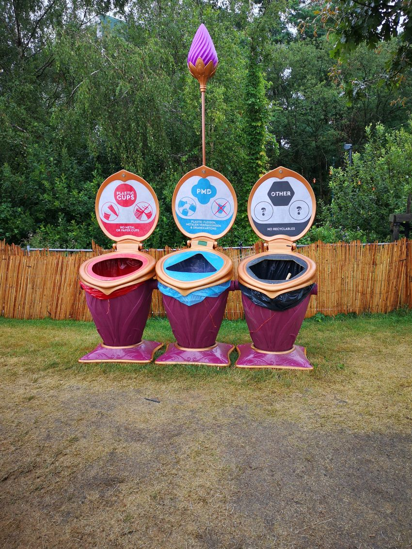 Tomorrowland recycling